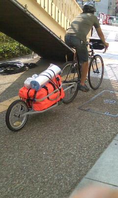 自転車キャンプ北海道ツアー