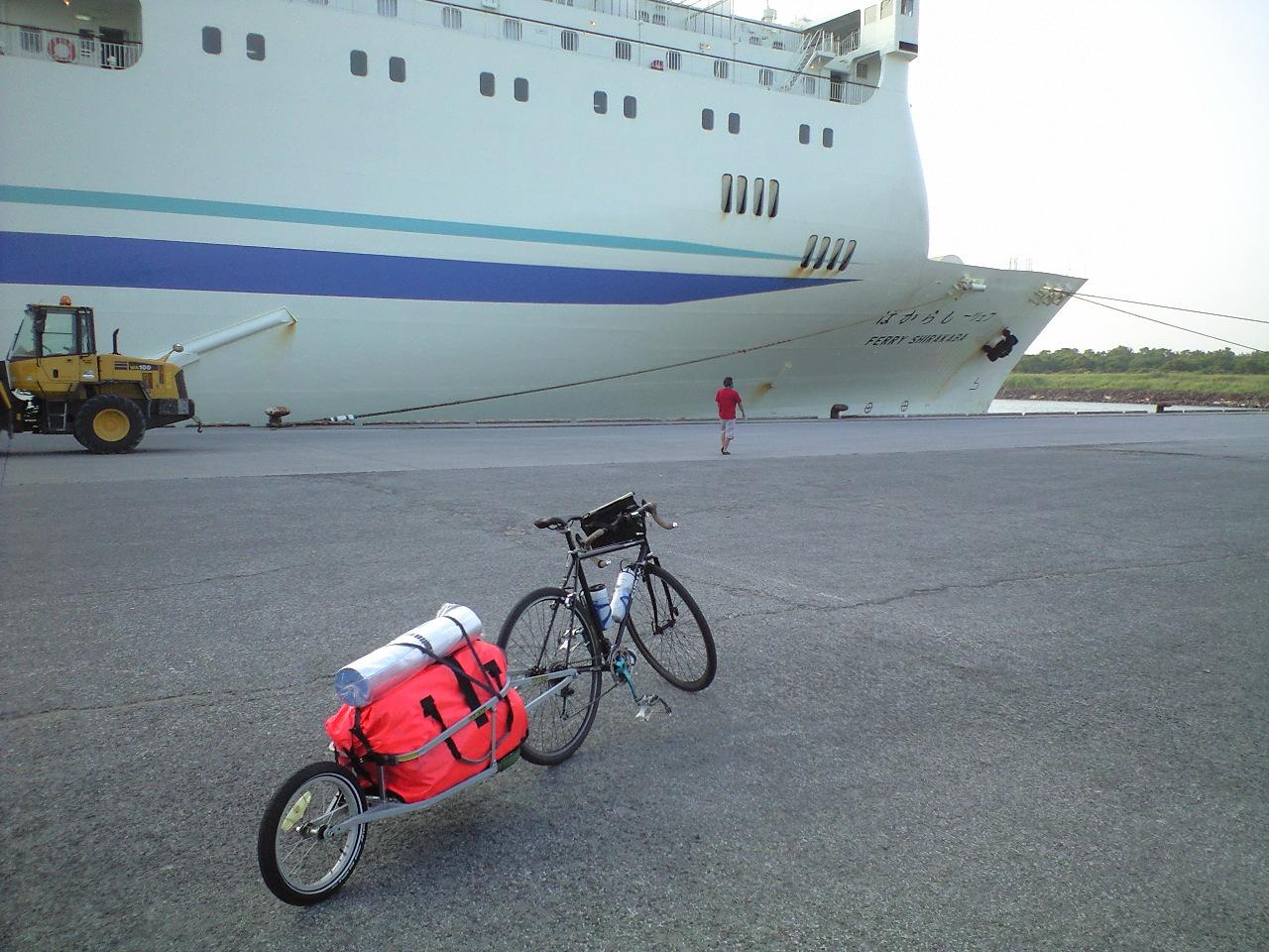 自転車キャンプ北海道ツアー2日目